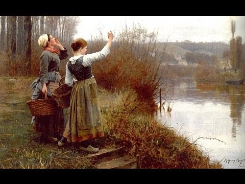 Daniel Ridgway Knight Paintings HD