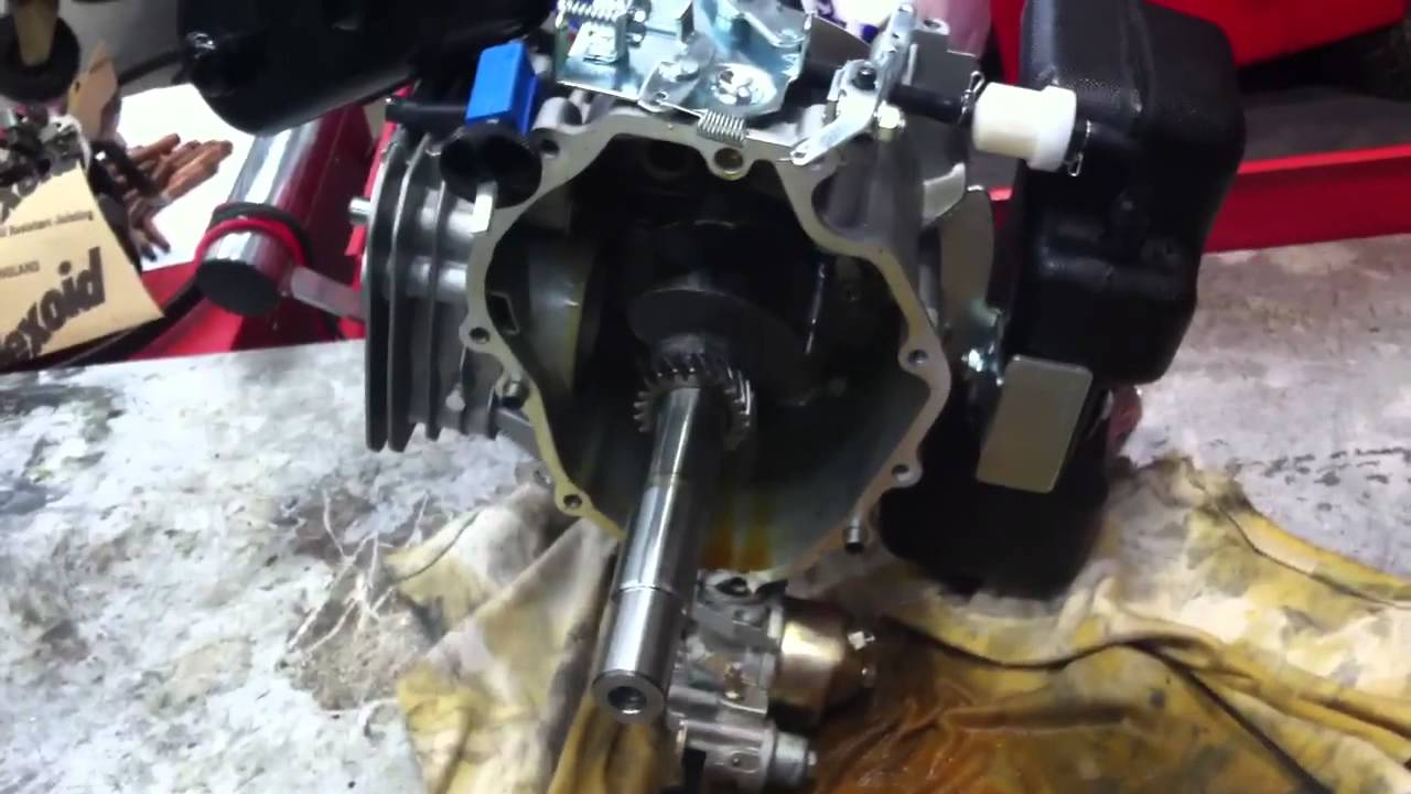 speed governor on lifan 5 hp air cooled 4 stroke engine youtube. Black Bedroom Furniture Sets. Home Design Ideas