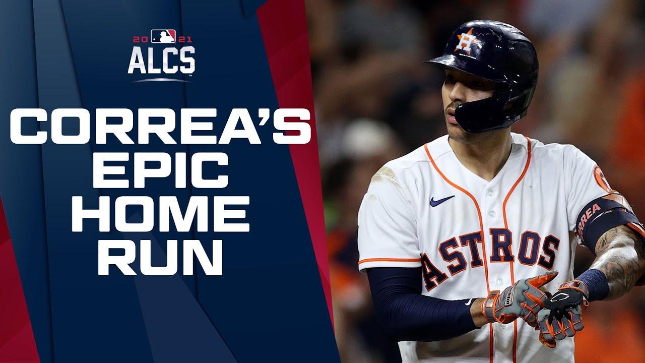 CARLOS CORREA OH MY!! Correa SMASHES home run and has epic celebration as Astros take lead!