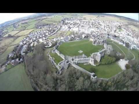 Denbigh Castle - Castell Dinbych North Wales