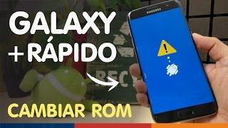 ARREGLAR MÓVIL ANDROID LENTO TRAS MALA ACTUALIZACIÓN | Cambiar ROM Galaxy S7 (y edge)