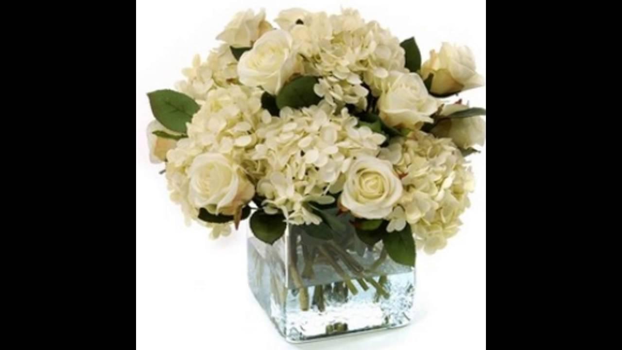 Flower Arrangements With White Hydrangeas