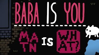 Baba Is You - Jon Is Confused