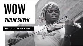 WOW - Post Malone (Violin Cover) - Brian King Joseph