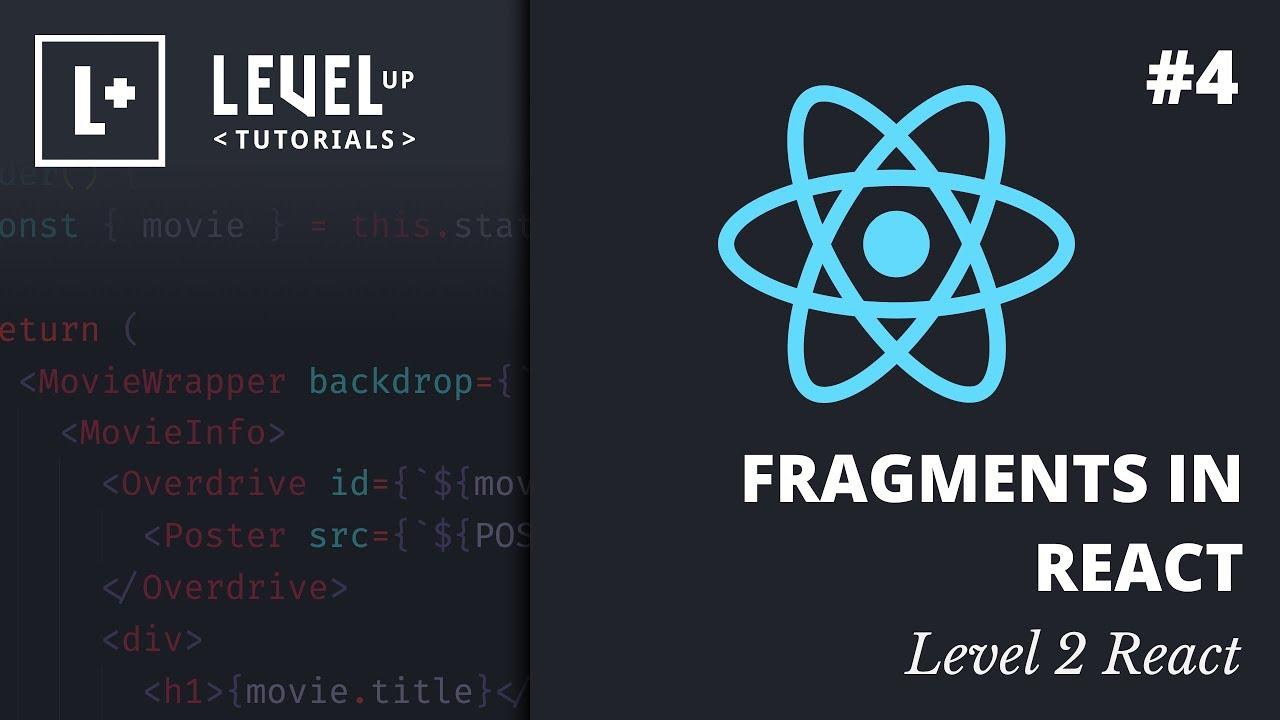 Fragments In React - Level 2 React Preview