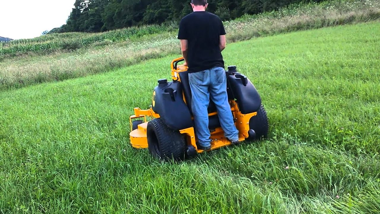 2012 Wright 61 Quot Lawn Mower Youtube