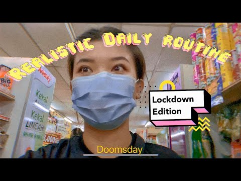 Realistic Daily Routine of An Introvert in Malaysia to anyone who cares | [Lockdown edition]