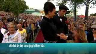 Per Andersson och Häxan Surtant på Skansen den 12 juli 2011