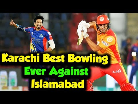 Karachi Best Bowling Ever Against Islamabad | Islamabad vs Karachi | Match 28 | HBL PSL 2020
