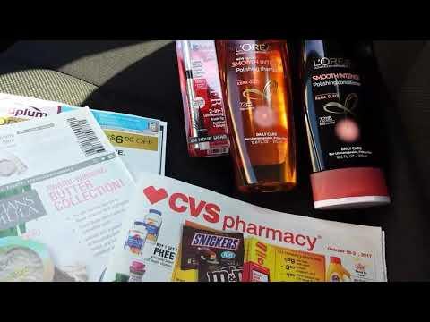 CVS couponing 10/15/17