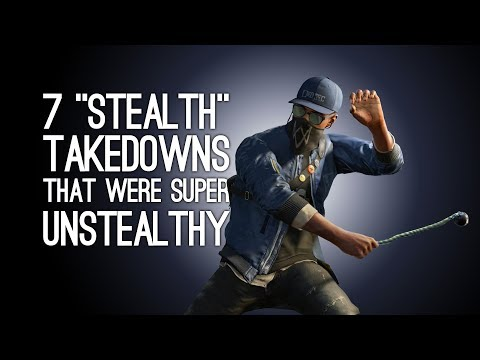 7 'Stealth' Takedowns That Were the Least Stealthy Thing to Ever Happen