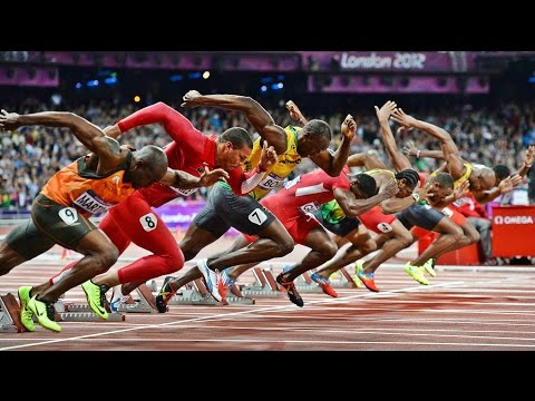TOP 10 | 100m Track and Field Sprints Until 2016 | HD