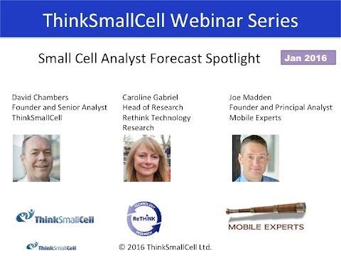 Small Cell Analyst Spotlight January 2016