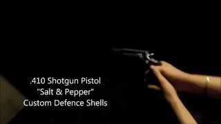 Defense Shotgun Pistol Salt & Pepper shells