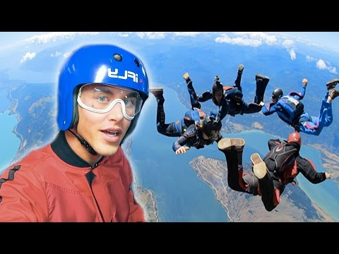 I WENT SKYDIVING!!!