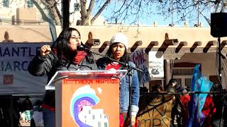WOMEN'S MARCH SANTA FE  2019 – SANTA FE PLAZA