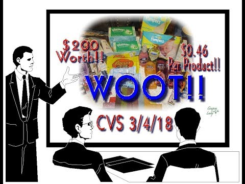 CVS Haul Week of 3/4/18 With an Unadvertised Deal and Almost $200 Worth of Products!