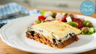 мусака  Подробный Рецепт  Греческий Ужин  Greek Moussaka  Tanya Shpilko