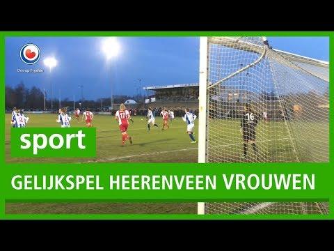 SPORT: Dames SC Heerenveen houden punt over aan duel met Ajax