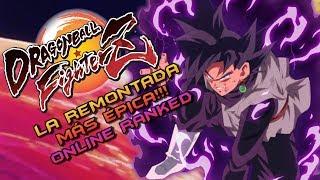 LA REMONTADA MÁS ÉPICA!! Dragon Ball FighterZ: Online Ranked: Español