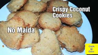 🍪Crispy Coconut Cookies in Prestige OTG | No Maida | In Tamil