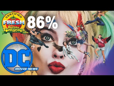 Birds Of Prey Opens And Is Certified FRESH!   DC Movie News