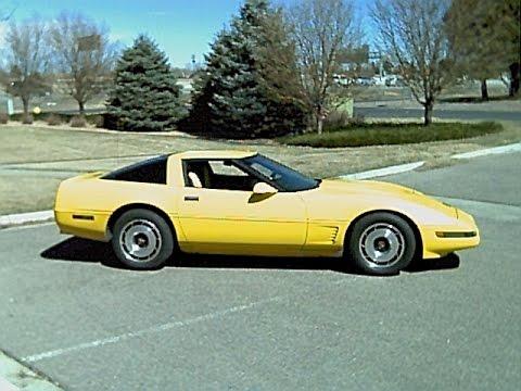 1986 Corvette Mass Air Flow Sensor Replace