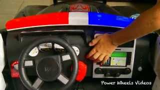 Kid Trax Police Dodge Charger - Police Car For Kids Unboxing!