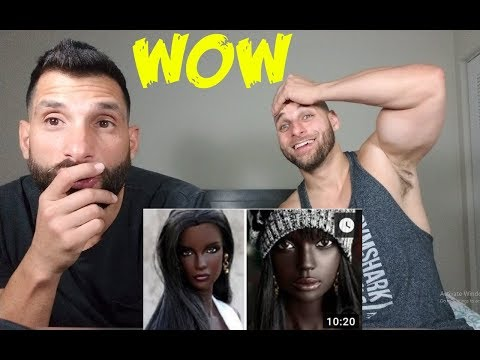 PEOPLE WITH UNIQUE BEAUTY REACTION