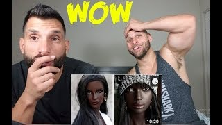 Gambar cover PEOPLE WITH UNIQUE BEAUTY [REACTION]