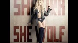 Shakira - She Wolf (Calvin Harris Remix)