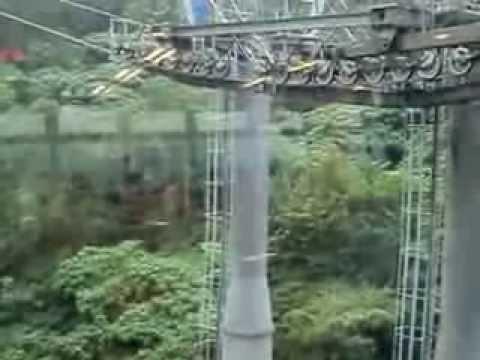 Taipei Taiwan Maokong Gondala Cable Car Ride
