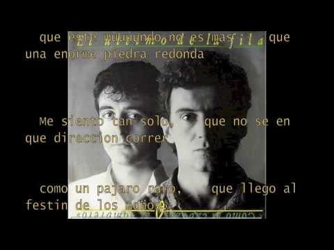 El Ultimo De La Fila - La Piedra Redonda (letra)
