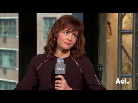 "Carla Gugino On ""Roadies""   BUILD Series"