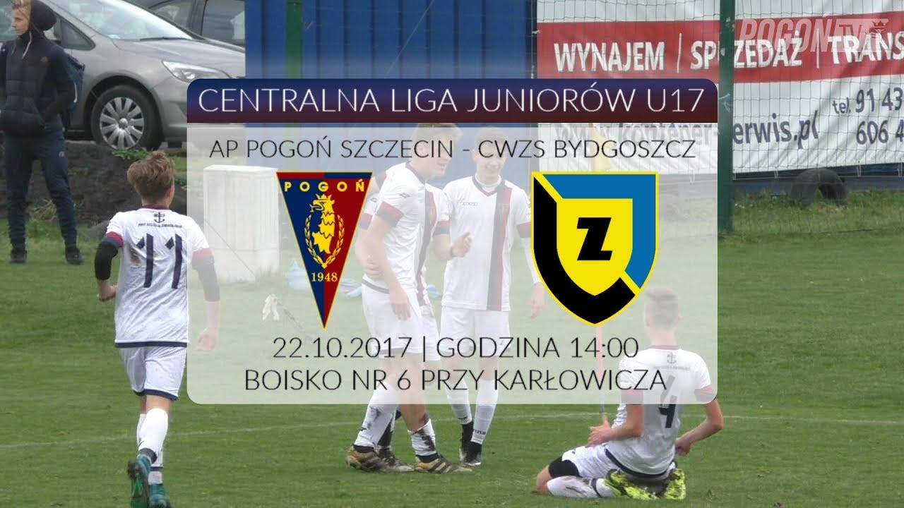 CLJ U17: AP Pogoń Szczecin – CWZS Bydgoszcz 3:1 (2:1)