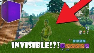 new how to turn invisible use guns and build fortnite battle - how to turn invisible in fortnite