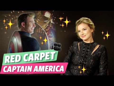Captain America : Civil War  Emma rencontre Emily Vancamp !