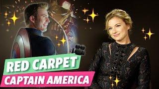 [ Captain America : Civil War ] Emma rencontre Emily Vancamp !