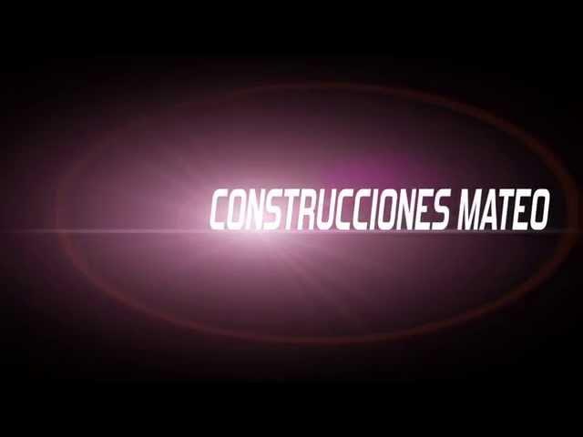 Construcciones Mateo 2015