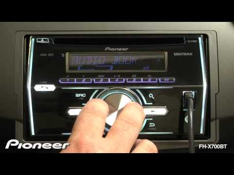 pioneer fh x700bt wiring installation how to fh x700bt mixtrax doovi