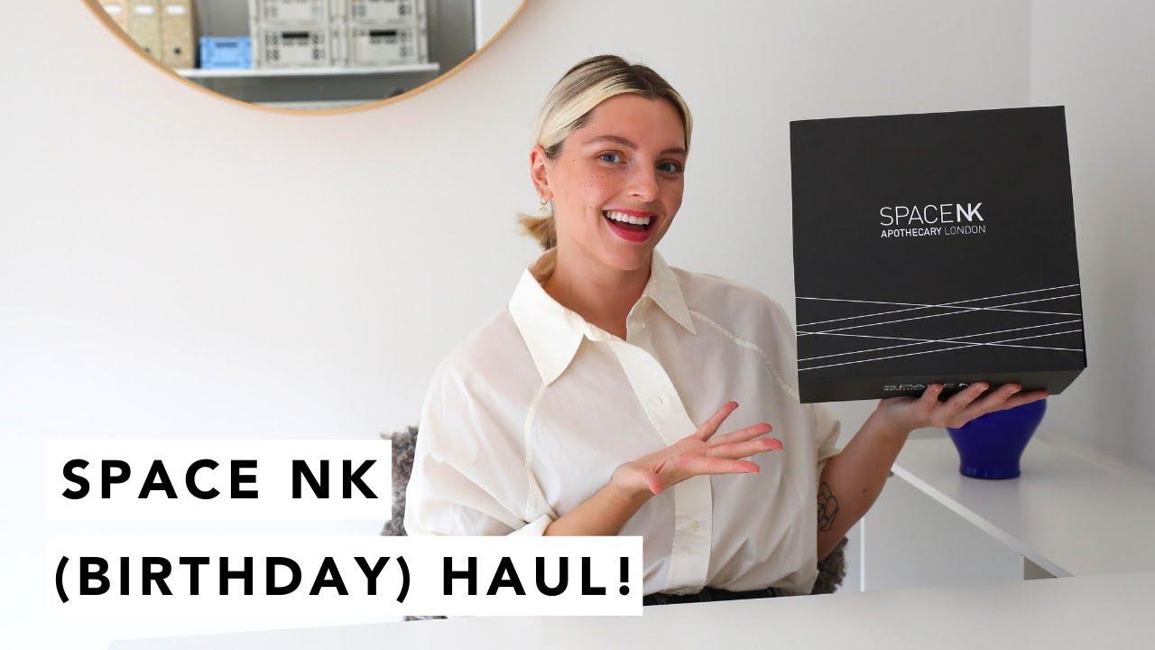 SPACE NK (BIRTHDAY) HAUL! | Estée Lalonde