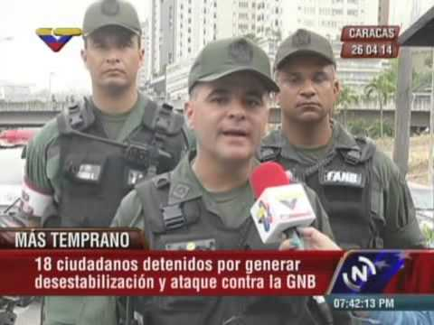 Declaraciones de Miguel Rodríguez Torres y Manuel Quevedo, 23 detenidos en Chacao y Santa Fe