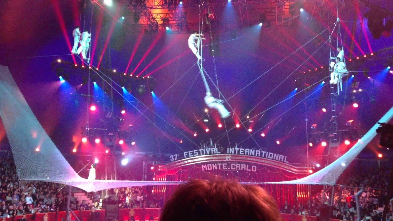 le festival international du cirque de monte carlo 2013