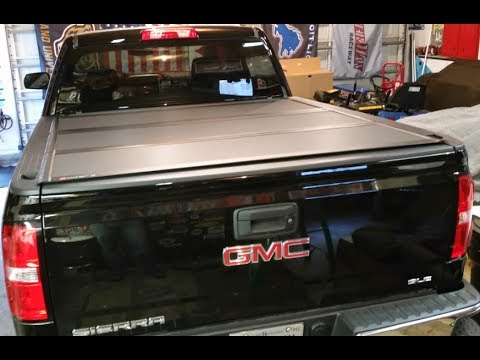 Bakflip Mx4 Review >> 2017 GMC Sierra BAKFlip MX4 Tonneau Cover Product Review ...