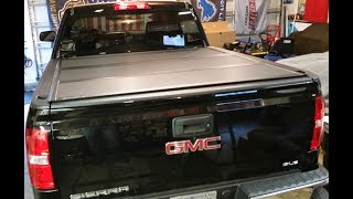2017 GMC Sierra BAKFlip MX4 Tonneau Cover Product Review and Installation
