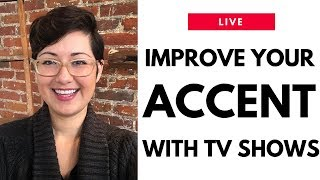 3 Ways to Improve Your American English Accent with TV Shows | Live Lesson | American English