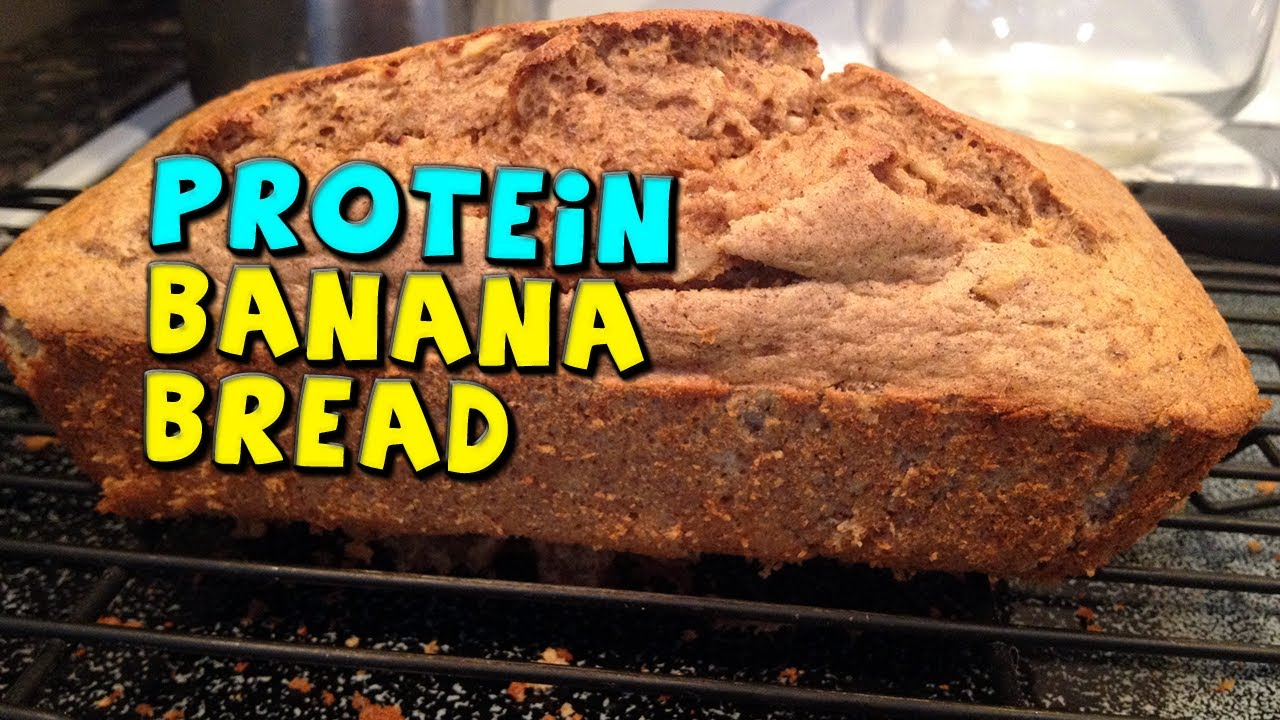 Protein Banana Bread Recipe Low Calorie Nuts Optional