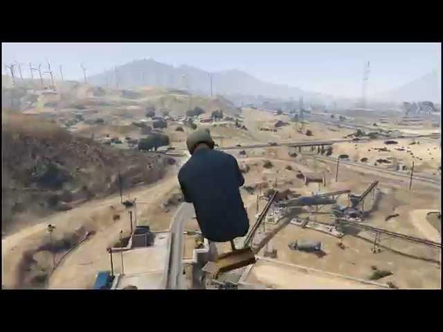 vassoura voadora - GTA V