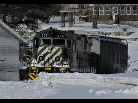 Winter Railroaders MA&N Utica-Boonville, NY