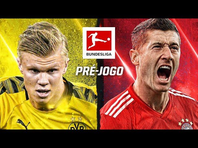 CLÁSSICO AO VIVO! Borussia Dortmund x Bayern de Munique pela Bundesliga; pré-jogo